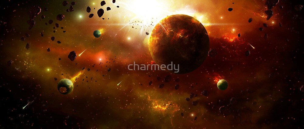 Asteroid Belt by charmedy