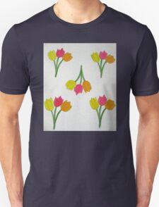 Happy Tulips Unisex T-Shirt