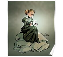 Marie Curie and the Radium. Poster