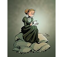 Marie Curie and the Radium. Photographic Print