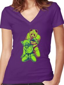 Martial Arts - Way of Life #4 Women's Fitted V-Neck T-Shirt