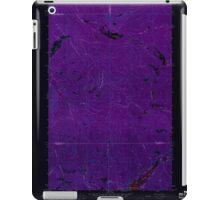 USGS Topo Map Washington State WA Aladdin Mtn 239766 1967 24000 Inverted iPad Case/Skin