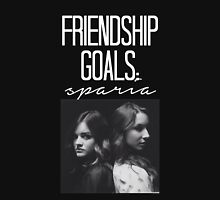 Friendship Goals; Sparia-- White Hoodie