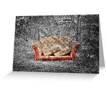 A Couch Greeting Card