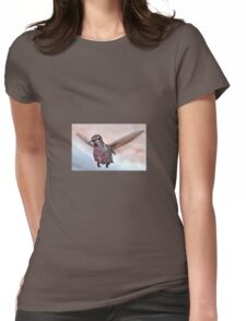 ANNA'S IN FLIGHT Womens Fitted T-Shirt