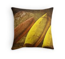 Three in a row Throw Pillow