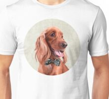 Mr. English Cocker Spaniel portrait Unisex T-Shirt
