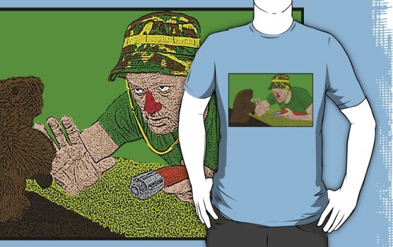 Bill Murray Caddy Shack by CultureCloth