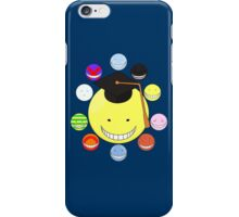 Faces of Korosensei iPhone Case/Skin