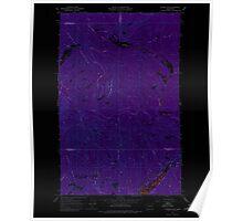 USGS Topo Map Washington State WA Aladdin Mtn 239765 1967 24000 Inverted Poster