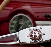 Alfa Romeo Steering Wheel by Jill Reger