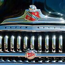 1947 Buick Sedanette Grille Emblem by Jill Reger