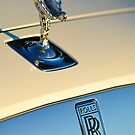 Rolls-Royce Hood Ornament by Jill Reger