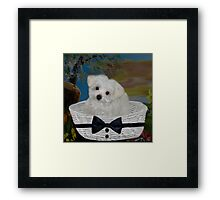 ❤ 。◕‿◕。 I HEAR THE SOUND OF CAR KEYS AM I GOING 4 A RIDE?? ❤ 。◕‿◕。 Framed Print