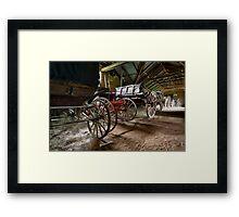 Lotsa Wheels Framed Print