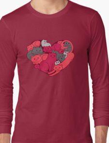 A Purrrrrfect Love Long Sleeve T-Shirt
