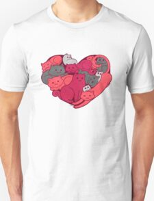 A Purrrrrfect Love Unisex T-Shirt