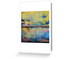 Tropical Rain Greeting Card