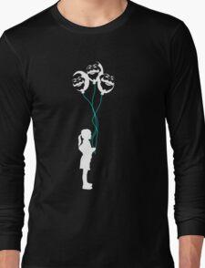 mr robot - girl/revolution Long Sleeve T-Shirt