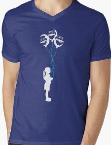 mr robot - girl/revolution Mens V-Neck T-Shirt