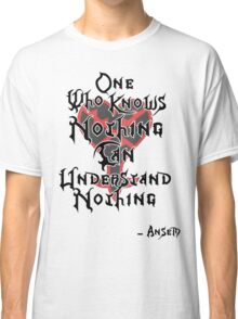 Kingdom Hearts: Ansem quote Classic T-Shirt