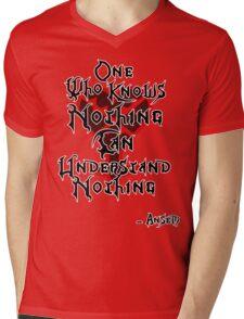 Kingdom Hearts: Ansem quote Mens V-Neck T-Shirt