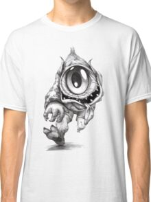 Cyclops Ogre With A Castle On His Head Classic T-Shirt
