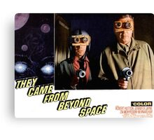 Men From Outer Space Canvas Print