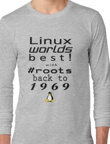 Linux Worlds Best Long Sleeve T-Shirt