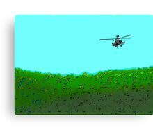 Search and destroy by #fftw Canvas Print