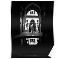 Alhambra Reflections Poster