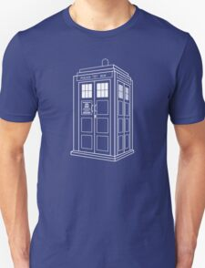 Who Police Booth T-Shirt