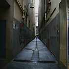 Deserted lane by BrianZvi