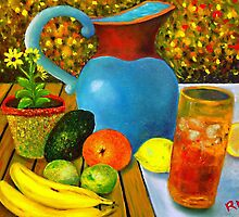 Iced Tea and Avocado by Robert Zunikoff