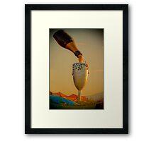 champagne in the sky  Framed Print