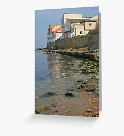 Sea View, Swanage Greeting Card