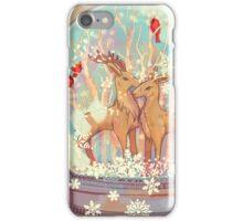Reindeer Snowglobe iPhone Case/Skin