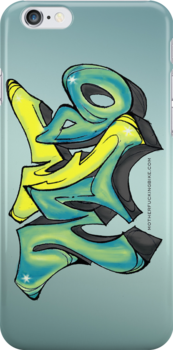 MFB Graffiti iPhone case by MFBike
