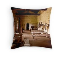 Soldier's Quarters Mission La Prurisima Throw Pillow