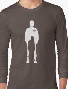 mr robot shilouette Long Sleeve T-Shirt