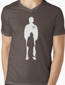 mr robot shilouette Mens V-Neck T-Shirt