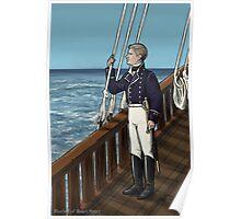 Naval Officer John Poster