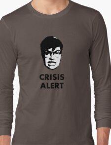 Garret Crisis Alert  Long Sleeve T-Shirt