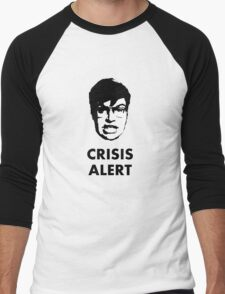 Garret Crisis Alert  Men's Baseball ¾ T-Shirt