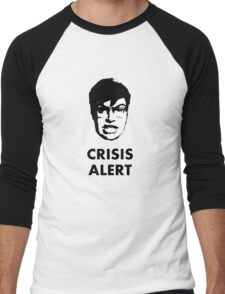 Garret Crisis Alert  Men's Baseball ¾ T-Shirt
