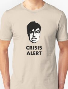 Garret Crisis Alert  Unisex T-Shirt