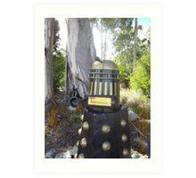 Dalek  letterbox Art Print