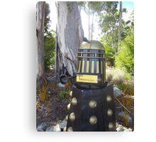 Dalek  letterbox Canvas Print