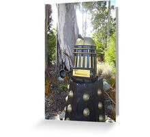 Dalek  letterbox Greeting Card