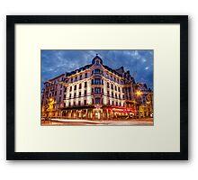 Hotel Mercure Lyon Brotteaux Framed Print
